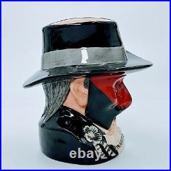 ROYAL DOULTON Phantom of the Opera D7017 Large Character Jug LE. PO