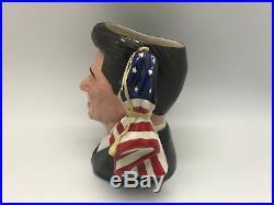 ROYAL DOULTON Ronald Reagan D6718 Large Character Jug #1874/5000 RARE