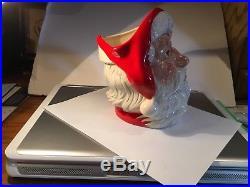 ROYAL DOULTON Santa Claus Large Character Jug Holly Wreath Handle D6794