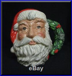 ROYAL DOULTON Santa Claus Large Character Jug (Wreath Handle) D6794