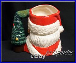 ROYAL DOULTON Santa Claus (witho glasses) Large Character Jug D6794 Tree Handle