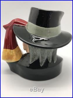 ROYAL DOULTON The Phantom of the Opera D7017 Large Character Jug #1027/2500 RARE
