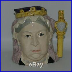 ROYAL DOULTON large size character jug Queen Victoria D6816 UK made