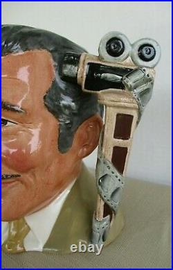 Rare 1984 Clark Gable Royal Doulton Character Jug #d6709 Celebrity Collection