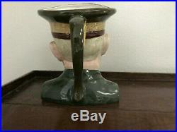 Rare Barrington large 71/2 character jug General Eisenhower no chips/cracks