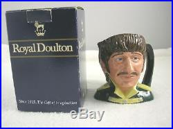 Rare Beatles Set of 4 Royal Doulton Toby Character Jugs, Mint, Made in England