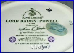 Rare DOULTON Limited Edition Character Jug LORD BADEN-POWELL D7144