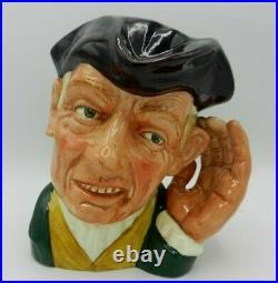 Rare Large Royal Doulton Character Jug'ARD OF'EARING D6588