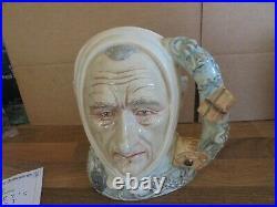 Rare Large Royal Doulton Character Jug Marley's Ghost D7142