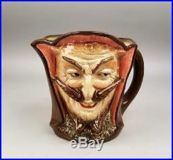 Rare Mephistopheles 2 Faced Devil Toby Character Jug Or Mug Large Size