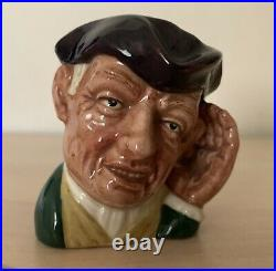 Rare Mini 2.5 ETC Royal Doulton Character Jug Ard of Earing D6534 1st Mint