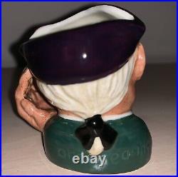 Rare Mini 2.5 ETC Royal Doulton Character Jug Ard of Earing D6534 Ex