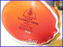 Rare Original Royal Doulton Flambe Character Jug ALADDIN'S GENIE Model No D6971
