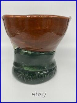 Rare! Royal Doulton 5-3/4 Toby Character Mug Jug D5844 Old Charley Tobacco Jar