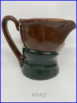 Rare Royal Doulton 5-3/4 Toby Character Musical Mug Jug D5858 Old Charley Works