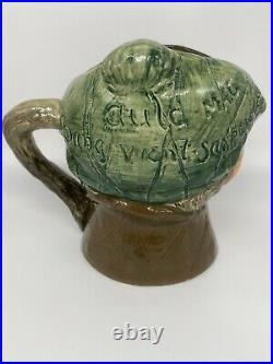 Rare! Royal Doulton 6 Toby Character Musical Mug Jug D5889 Auld Mac Thorens