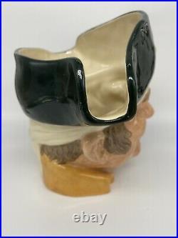 Rare! Royal Doulton 7 Toby Character Mug Jug D6799 Long John Silver Le 164/250