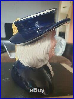 %% Rare %% Royal Doulton Character Jug Mr Quaker D6738 Ltd Ed. 2045/3500