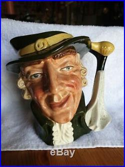 Rare Royal Doulton Character Jug Regency Beau The Rarer D6559