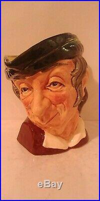 Rare Royal Doulton Character Jug Simple Simon D6374 Large 7 1953-1960