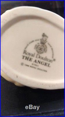Rare Royal Doulton Character Jug The Angel D7051 Mini 2 3/4 1996-97 Us Only