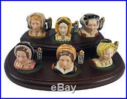 Rare Royal Doulton Character Jugs'Six Wives Of Henry VIII