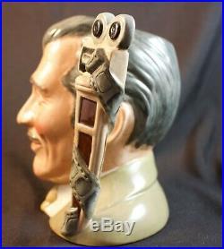 Rare Royal Doulton Clark Gable Character Jug D6709 Great Condition