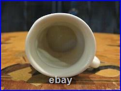 Rare Royal Doulton Dickens Character Micawber White Miniature Toby Mug Jug D6138