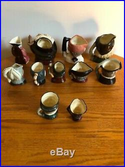 Rare Royal Doulton Doulton & Co Limited + Toby Character Jug Collection