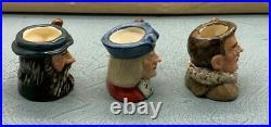 Rare Royal Doulton Famous Explores Ltd Edition Miniature Character Jugs SU212