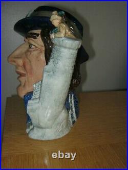 Rare Royal Doulton Gulliver Large Character Jug