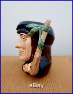 Rare Royal Doulton Miniature Mini Character Toby Jug Scaramouche D6564 Max Henk