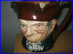 Rare Royal Doulton Musical Old Charley Character Jug