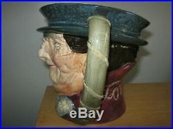 Rare Royal Doulton Musical Tony Weller Character Jug