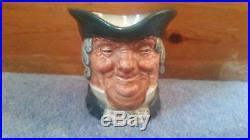 Rare Royal Doulton Parson Brown Character Jug Bentalls Backstamp 1935