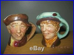 Rare Royal Doulton Pearly Boy/pearly Girl Miniature Character Jugs