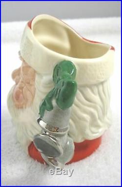 Rare Royal Doulton Santa Claus with Bell Handle Toby Character Jug Mint in Box