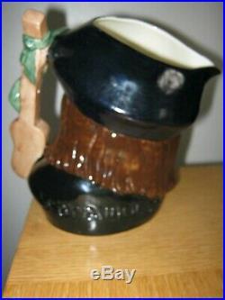 Rare Royal Doulton Scaramouche Large Character Jug