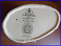 Rare Royal Doulton Scaramouche Special Ltd. Ed. Large Character Toby Jug 1987