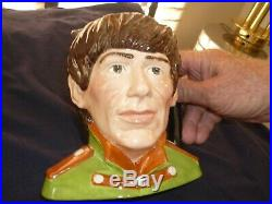 Rare Royal Doulton Set The Beatles 4 Toby Character Jugs Mint Condition