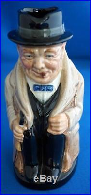 Rare Royal Doulton Sir Winston Churchill Toby Character Jugs Unrecorded Sizes
