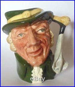 Rare Royal Doulton Small Character Jug Regency Beau D6562