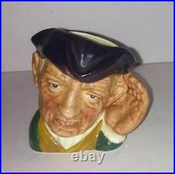 Rare SMALL Royal Doulton Toby Character Jug 2.5 ARD of EARING D6594 1964-67