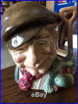 Red Gardener Royal Doulton Character Jug