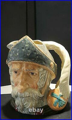 Retired Royal Doulton DON QUIXOTE Large 7.5/8 Character Toby Jug Mug D6455 1956