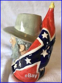 Robert E. Lee Lg Character Toby Jug Mug Prestige Collectors Ceramics Civil War