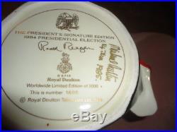 Ronald Reagan D6718 Large Royal Doulton Character Jug Limited Edition