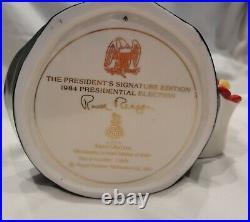 Ronald Reagan Royal Doulton Lg Character Toby Jug # D6718 RARE Original Box