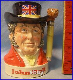 Royal DOULTON Character LIQUOR JUG JOHN BULL