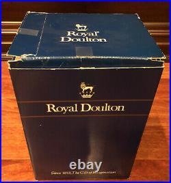 Royal Dalton Robin Hood Two Handled Character Jug D6998 COA WithBox Robinhood
